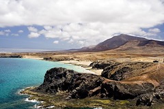 lanzarote (MasVito) Tags: island mar sand lanzarote playa canarias arena canary isla oceano