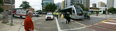 Panorama of the accident scene (Can 'o' Rye) Tags: train traffic metro c