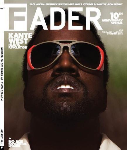kanye west fader magazine cover