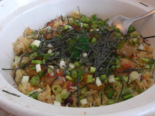 魚翅干貝炒飯