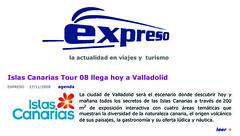 17/11/08_(1)EXPRESO- la actualidad en viajes y turismo_presentacion (ISLAS CANARIAS TOUR'08) Tags: de notas prensa