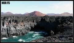 LANZAROTE (NUR FS) Tags: landscape island lanzarote paisaje panoramica isla loshervideros cruzadas