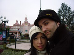 Hello From Disney Land (Shadows Oliv) Tags: auto trip portrait selfportrait me ego disney chan land eurodisney olivier oliv yome
