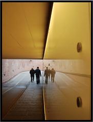Gold Reflex (jerik0ne) Tags: street light gold golden reflex meeting lucca tuscany luce oro riflesso walktheline sconosciuto incontro incrocio sottopassaggio incrociare