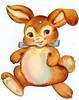 I heart Eartha. (sparkleneely) Tags: bunny vintage easter decoration gift cuteness earthasthebest