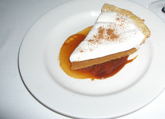 pumpkin pie + spice cream