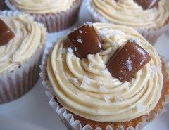 DB November 2008 Challenge - Caramel Cupcakes