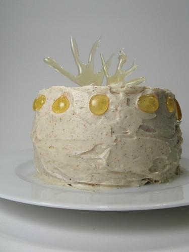 Daring Bakers Caramel Cake