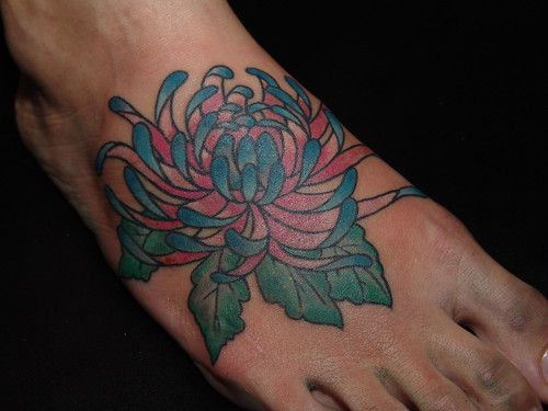 foot flower