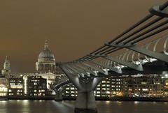St Pauls, by Mat (Mat Mackenzie) Tags: bridge london saint st thames river lowlight millenium pauls thegalleryoffinephotography
