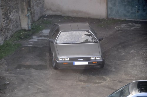 Back to the DMC DeLorean (by LaLogotheque [AK400])