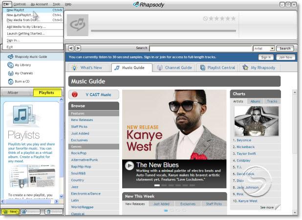 Transfer Rhapsody playlist to iPod