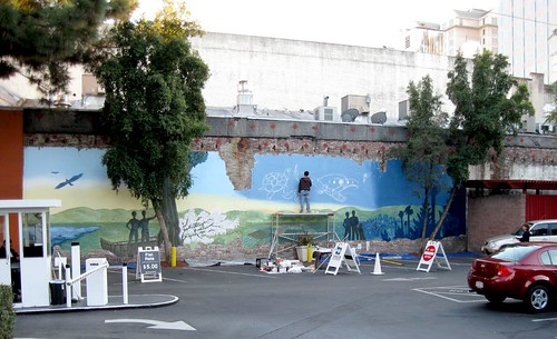 2nd Street Mural.  Downtown San Jose