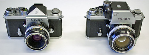 Nikon F and Nikon F Photomic T