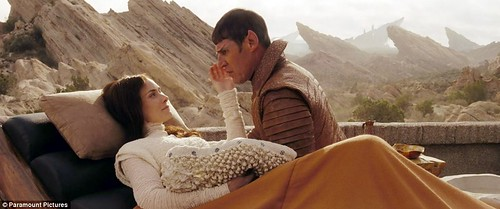 Sarek and Amanda