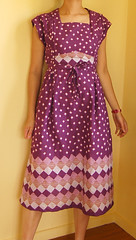 Purple dress (mame*) Tags: vintage dress purple sewing 1976