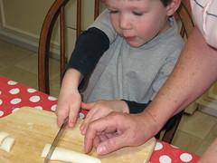 cutting candy