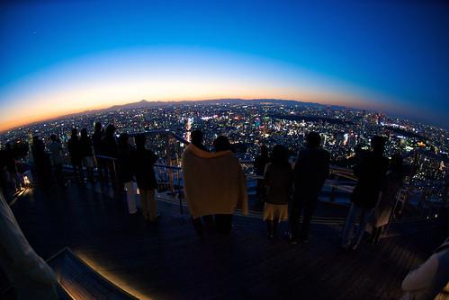 Tokyo sunset over Fuji 15
