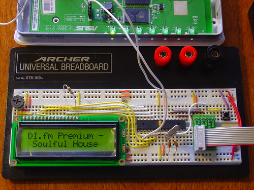 Wifi Radio LCD Display
