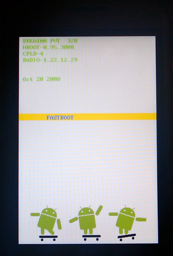 Android in fastboot mode
