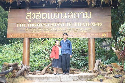 Highest Spot in Thailand