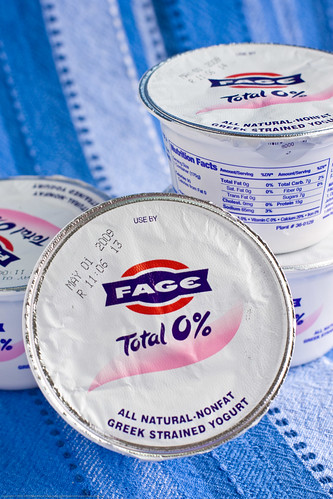 Fage Yogurt: plain 0% yogurt