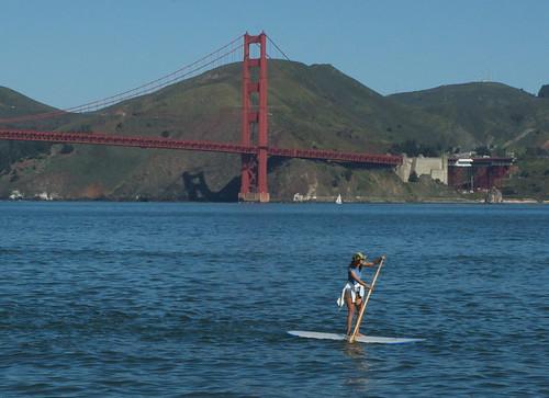 Golden Gate Paddleboarder