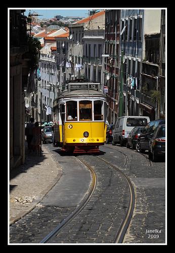 Tranvia de Lisboa by Janelka2009.