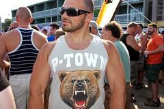 DSC_0290B (bucksboy) Tags: bear gay hairy beard goatee cub provincetown massachusetts ptown 2009 unshaven scruff hairychest boatslip bearweek gaybear ptownbearweek bearweek2009 ptownbear theboatslip