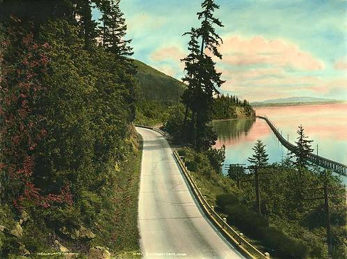 Chuckanut Drive vicinity of Bellingham Bay, Washington