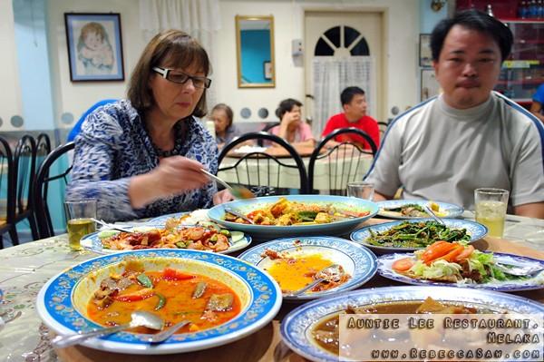 Aunty Lee Nyonya food Melaka-15