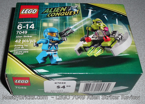 LEGO 7049 - Alien Conquest - Alien Striker Review