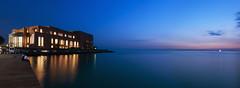 Concert Hall of Thessaloniki (Faddoush) Tags: music night 50mm hall nikon hellas greece thessaloniki 18 makedonia megaro