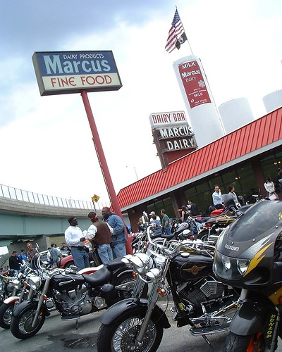 Bikes and Bikers at the Marcus Dairy