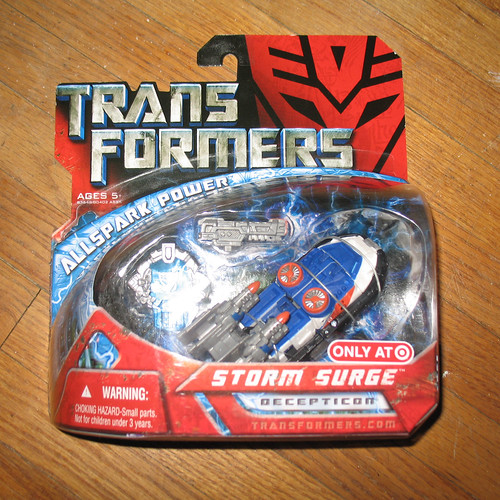 Transformers Movie Storm Surge (Target Exclusive)