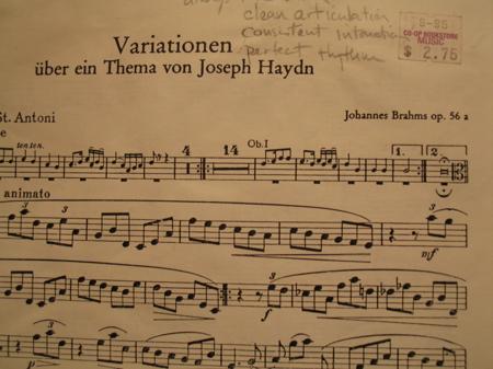 Brahms Haydn
