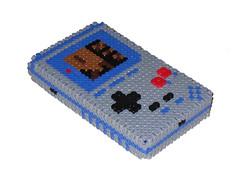 3D Vintage Gameboy Bead Sprite (Doctor Octoroc) Tags: vintage nintendo videogames gameboy hamabeads perlerbeads gameboyclassic beadsprite doctoroctoroc