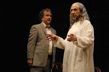 Mark Linn-Baker and F. Murray Abraham in Almost an Evening/Debate