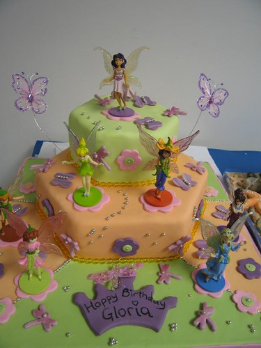 Tink and Friends Fairy Cake