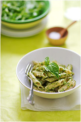 Wednesday Lunch (La tartine gourmande) Tags: home lunch salad pasta pesto latartinegourmande tofeelbetter