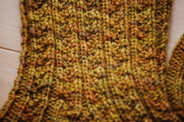 Hedgerow socks detail