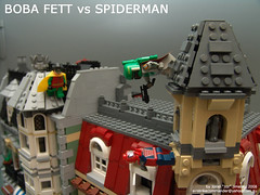 Boba Fett vs Spiderman (in Robin's Hood)