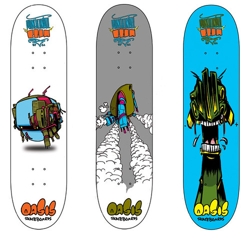Oasis Skateboards X phoneticontrol