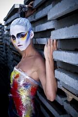 [フリー画像] 人物, 女性, ファッション, ドレス, 201004032100