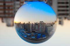 """""""La esfera urbana (invertida)"""" (Marcelo Savoini) Tags: urban glass nikon sphere urbana vidrio esfera d40 explored"""