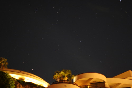 Stars above the Sheraton