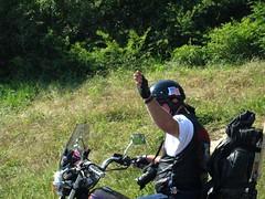 Veteran biker