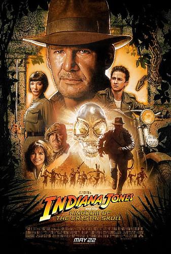 Indiana Jones y el Reino de la Calavera de Cristal poster final