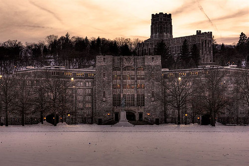 West Point in Winter 2008