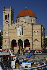 Greece - Aegina - Panayitsa Church (Darrell Godliman) Tags: travel copyright building travelling tourism church architecture p